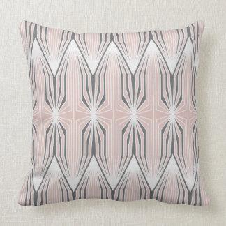 Tulips blush pattern throw pillow