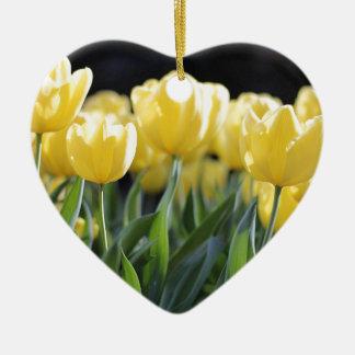 Tulips Ceramic Ornament
