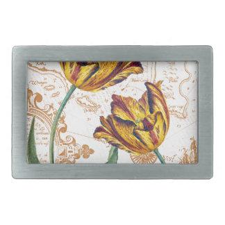 Tulips Chic Belt Buckle