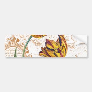 Tulips Chic Bumper Sticker