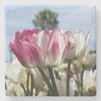 Tulips Coaster Stone Coaster