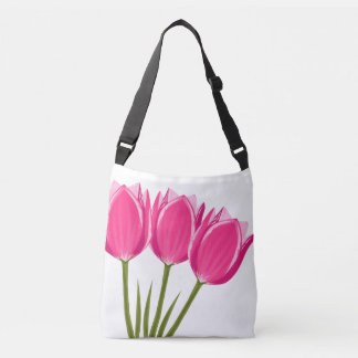 Tulips Cross Body Bag