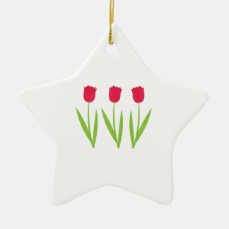 Tulips Christmas Ornaments