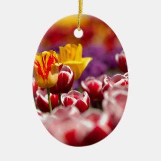 Tulips Christmas Tree Ornaments