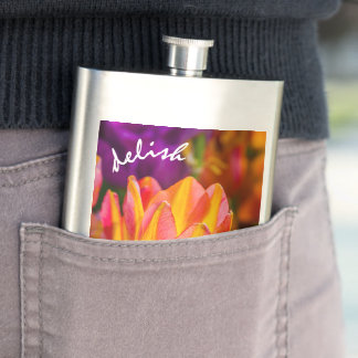 Tulips Enchanting 16 Hip Flask