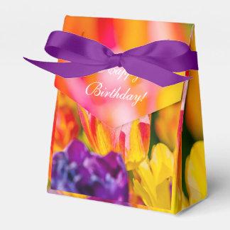 Tulips Enchanting Beautiful Favour Box