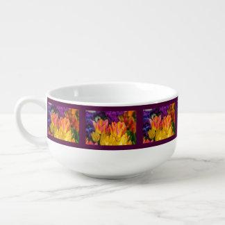 Tulips Enchanting Soup Mug