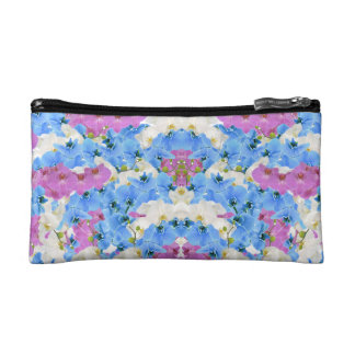 Tulips Floral Colorful Cosmetic Bag