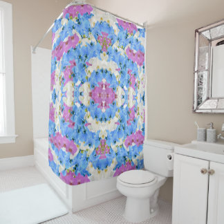 Tulips Floral Colorful Shower Curtain