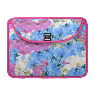 Tulips Floral Pattern Macbook Pro Laptop Sleeve MacBook Pro Sleeves