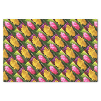Tulips Flowers Tissue Paper