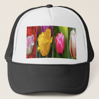 Tulips Flowers Trucker Hat