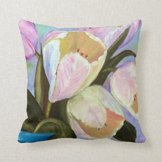 Tulips in pot I Cushion