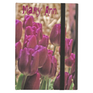 Tulips in Purple iPad Air Cover