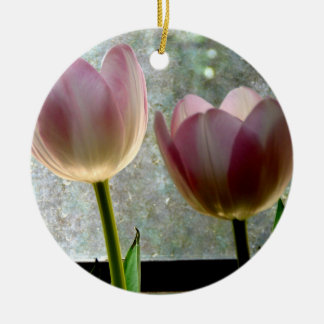 Tulips in the Window Ornament