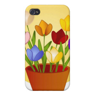 Tulips iPhone Case 4 Cases For iPhone 4