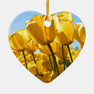 Tulips jpg christmas ornament