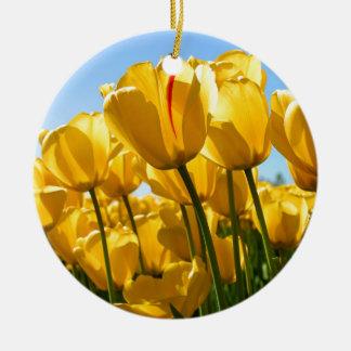 Tulips jpg christmas tree ornament