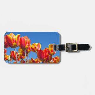 Tulips Luggage Tag