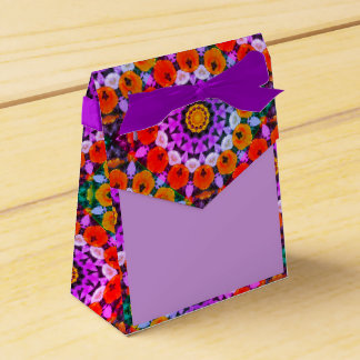 Tulips Nature, Flower-Mandala 002 Favour Boxes