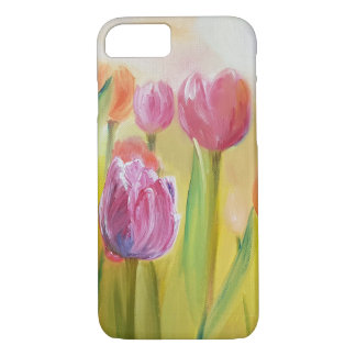 Tulips oil painting art flowers iPhone 8/7 case