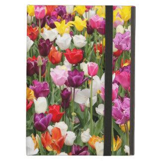 tulips on the go iPad air cover