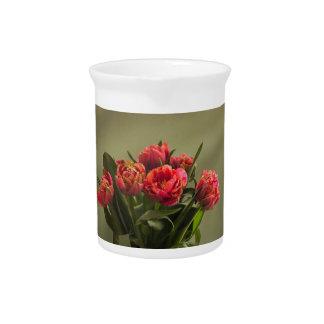 tulips pitcher