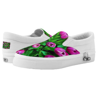 Tulips Printed Shoes