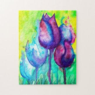 Tulips Puzzle