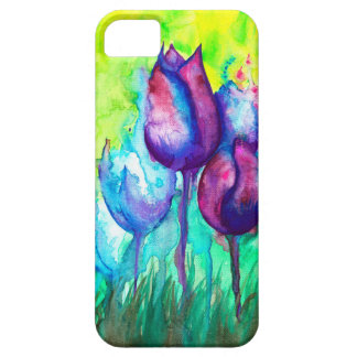 Tulips Puzzle Barely There iPhone 5 Case