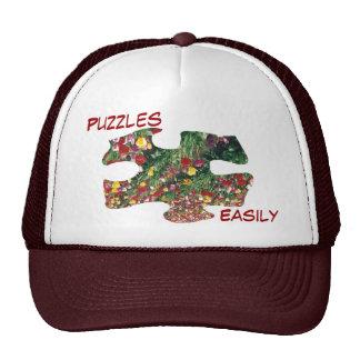 Tulips Puzzle Hat