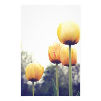 tulips stationery