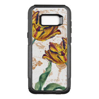 Tulips Vintage Map OtterBox Commuter Samsung Galaxy S8+ Case