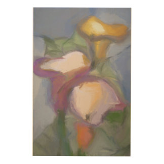Tulips Wood Canvases