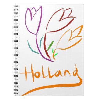 Tulp Holland Spiral Notebook