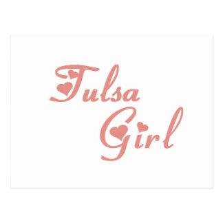 Tulsa Girl tee shirts Postcard