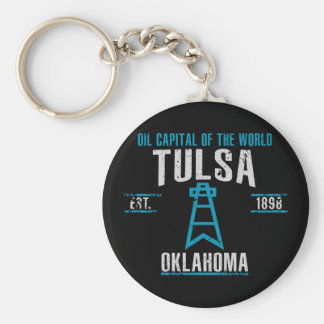 Tulsa Key Ring