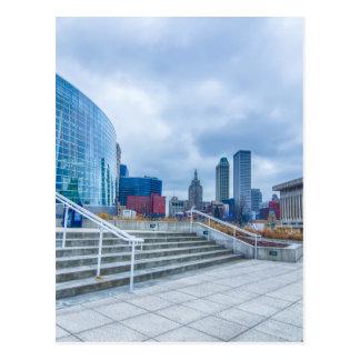 tulsa oklahoma downtown postcard