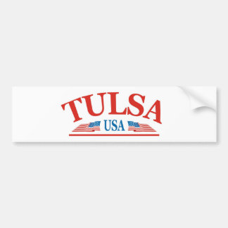 Tulsa Oklahoma USA Bumper Sticker