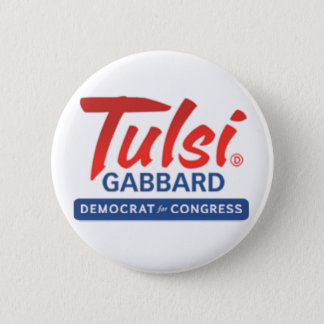 Tulsi Gabbard for Congress 6 Cm Round Badge