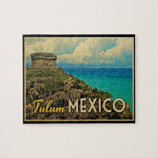 Tulum Mexico Jigsaw Puzzle