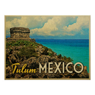 Tulum Mexico Posters