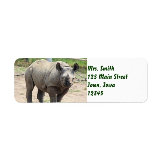Tumani Return Address Label