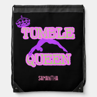 Tumble Queen cinch sack backpack