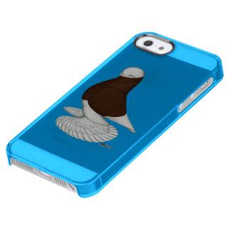 Tumbler:  Muffed Red Bald Clear iPhone SE/5/5s Case