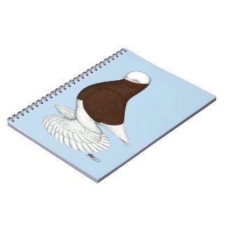 Tumbler:  Muffed Red Bald Notebook
