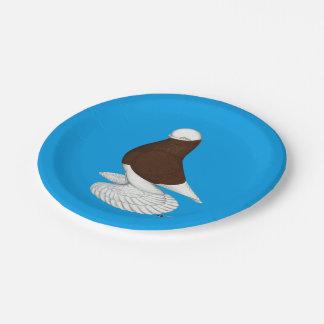 Tumbler:  Muffed Red Bald Paper Plate