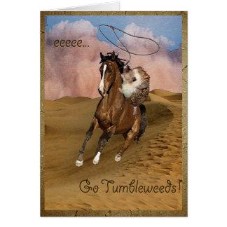 Tumbleweeds Greeting Card