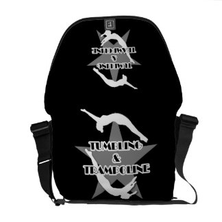 Tumbling and Trampoline RIckshaw messenger bag