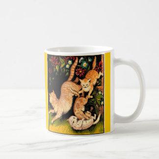 Tumbling Cats Mug (Vintage)
